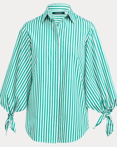 Camicia con maniche allacciate