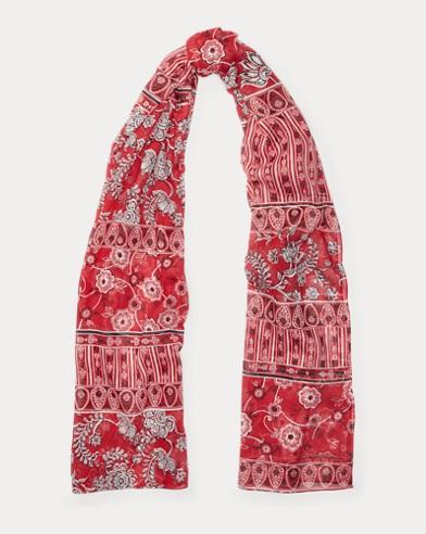 Bedruckter Schal aus Modal