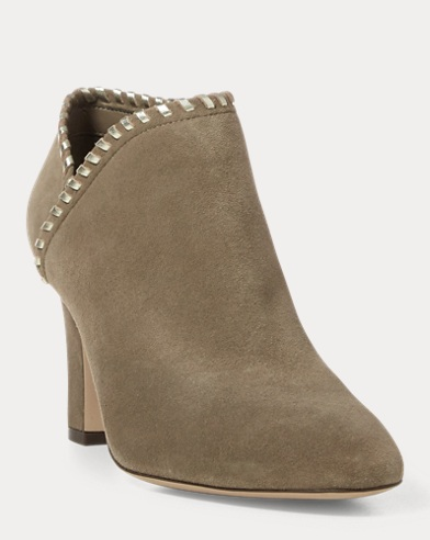 Bottines Bryna en daim