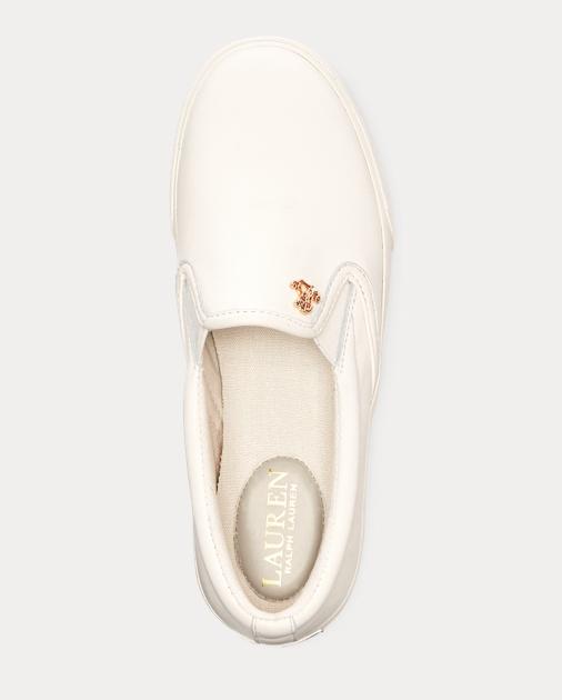 dbf801faff Ria Leather Slip-On Sneaker