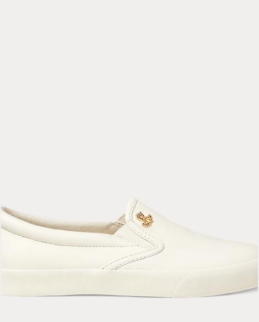 28228e6da7 Ralph Lauren Ria Leather Slip-On Sneaker at £85 | love the brands