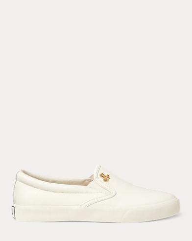 Ria Leather Slip-On Sneaker