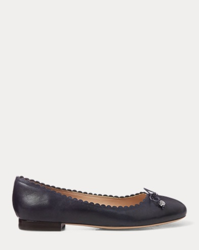 Glennie Leather Flat