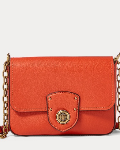 Pebbled Leather Crossbody Bag