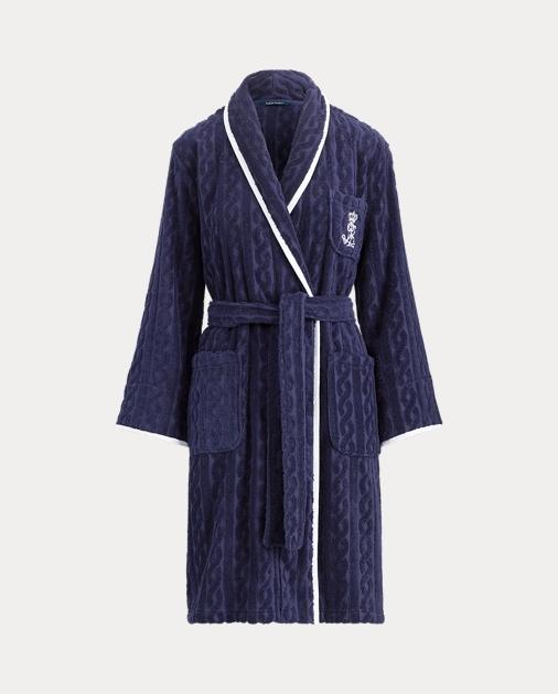 dae0141af73c46 Lauren Kimono-Morgenmantel aus Baumwolle 1