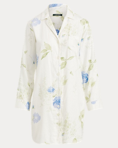 Floral Sleep Shirt