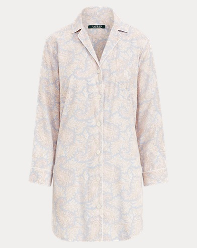 Paisley Sleep Shirt