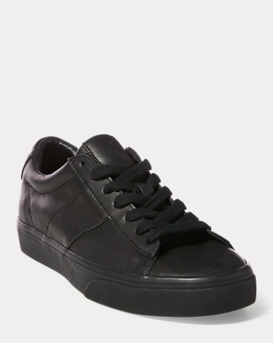 Sayer Leather Low-Top Sneaker