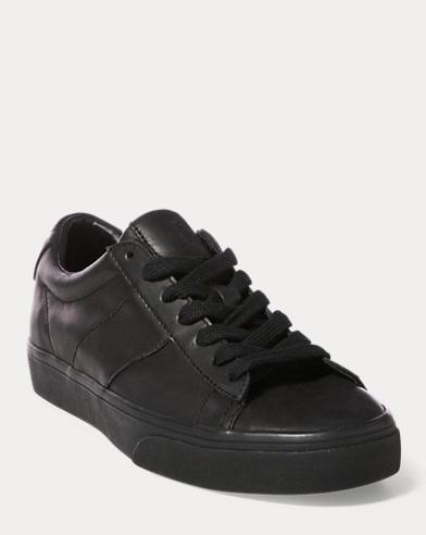 Sneaker Sayer basse in camoscio
