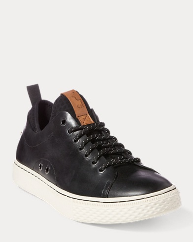 Sneaker Dunovin in pelle