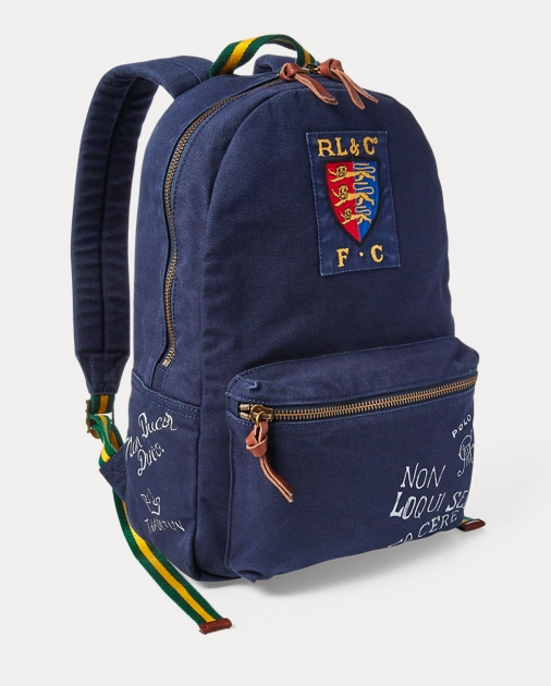 Polo Ralph Lauren Crested Canvas Backpack 3 0229cf7dfa924