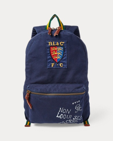 a17e188838 Save to Favorites · Crested Canvas Backpack. Polo Ralph Lauren
