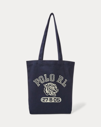 Polo Tiger Canvas Tote