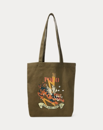 Military Tiger Canvas Tote