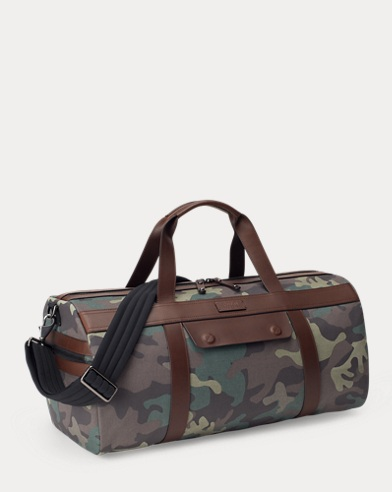 6a50f31ee5 Sac de voyage en coton camouflage. Polo Ralph Lauren