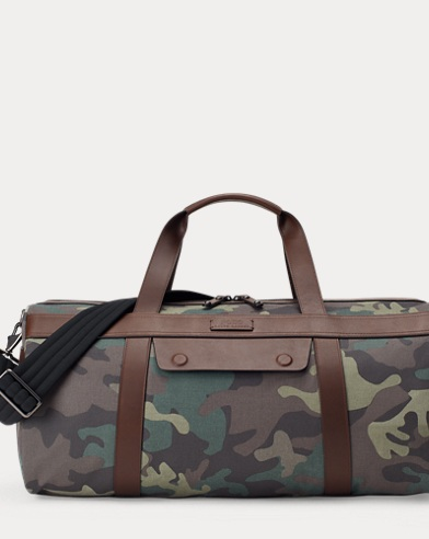 Camo Cotton Duffel