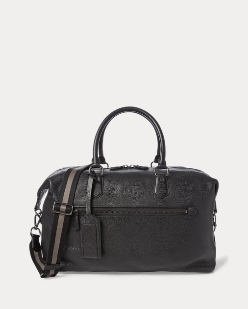 3c30dd6875 Polo Ralph Lauren Pebbled Leather Duffel 1