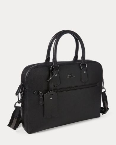 751ad3d1b9 Bags. Save to Favorites · Pebbled Leather Briefcase. Polo Ralph Lauren