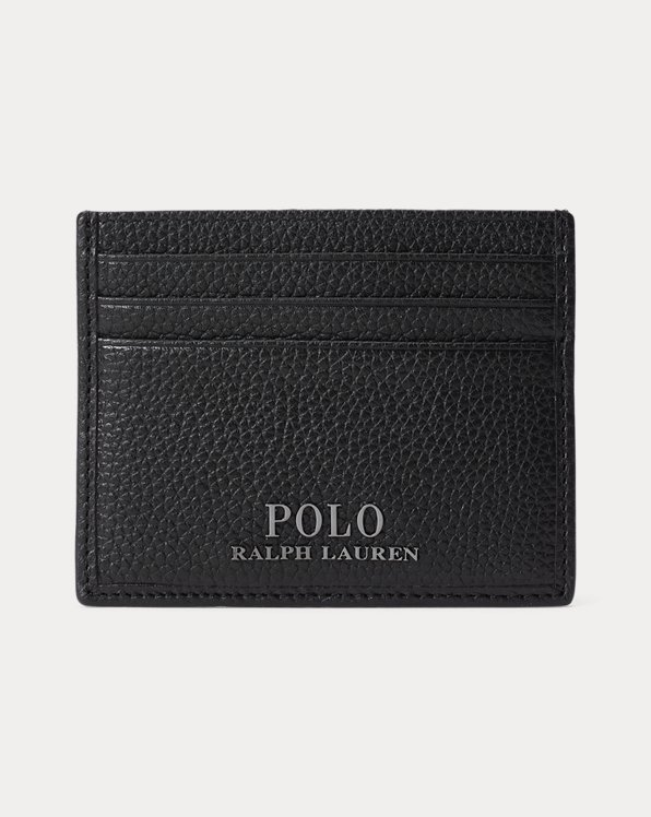 Pebbled Leather Card Case