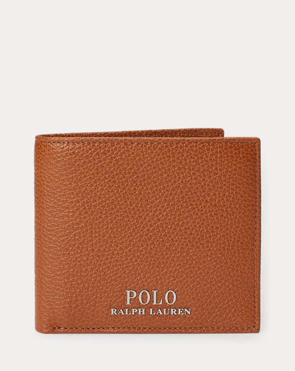 Pebbled Leather Billfold