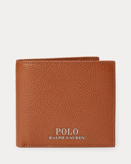 fb192d1df152ef Polo Ralph Lauren Pebbled Leather Billfold 1