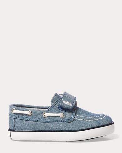 Sander Chambray EZ Boat Shoe