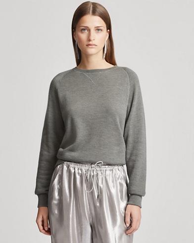 Cashmere Pullover Sweatshirt