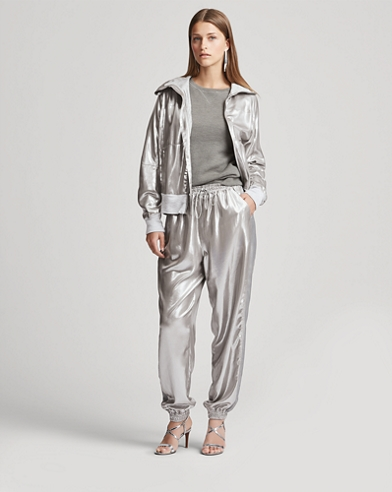 Mitchell Metallic Foil Pant