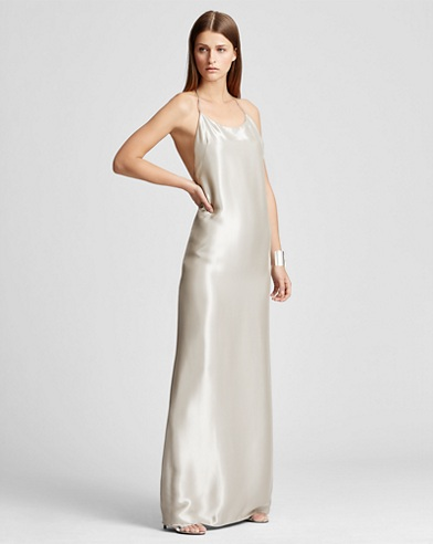 Bacall Lamé Gown