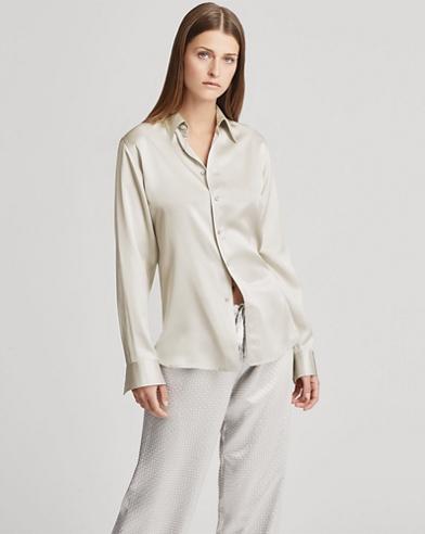 Camicia Bacall in raso