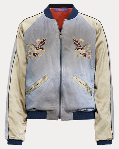 Henrique Satin Bomber