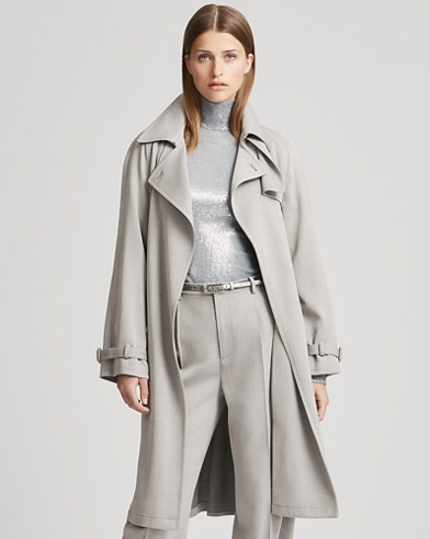 Jayne Wool Trench