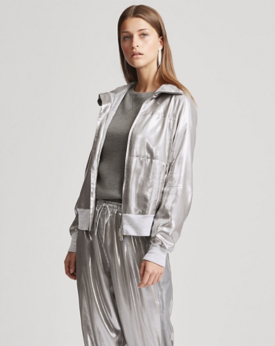 Loka Metallic Foil Jacket