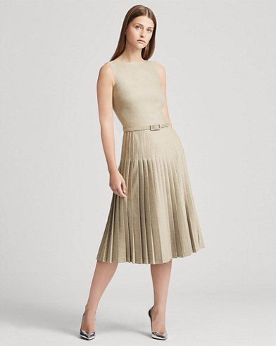 Nevina Wool Dress