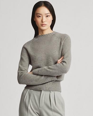 Saddle Crewneck Sweater