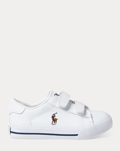 Ralph Lauren Pony Casual Mesh Shoes White