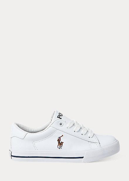 Polo Ralph Lauren Easten II Faux Leather Sneaker
