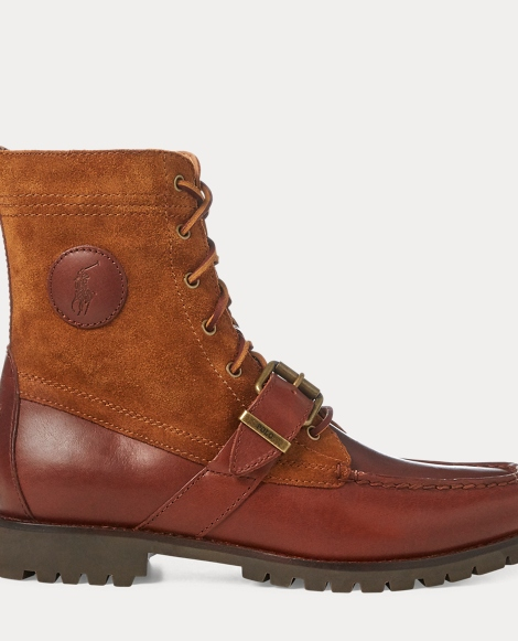 Ranger Saddle-Suede Boot