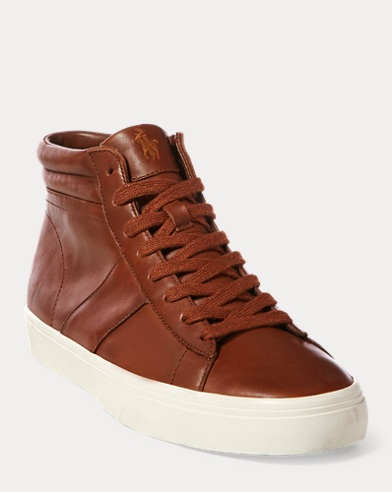 Shaw Leather High-Top Sneaker