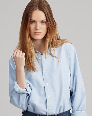 Camicia Oxford in cotone oversize