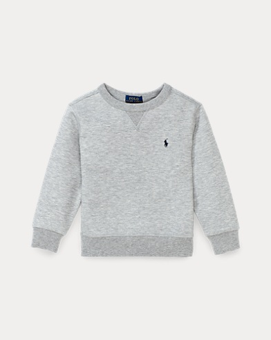 Pull à col rond en tricot double