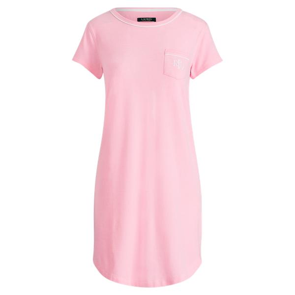 Ralph Lauren Cotton-Modal Sleep Tee Pink M