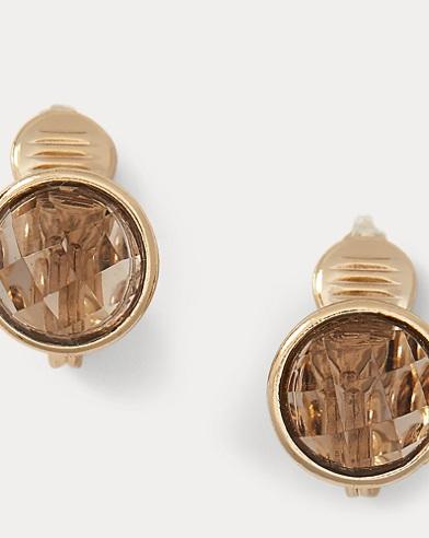 Glass Clip-On Earrings