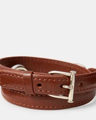 Equestrian Leather Bracelet
