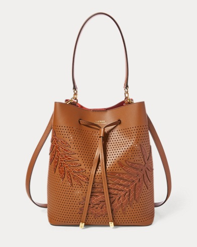 Leaf Debby Drawstring Bag