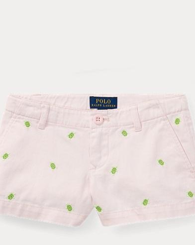 Ladybug Cotton Chino Short