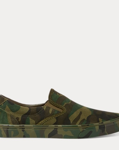 Polo Ralph Lauren. Solomon Canvas Sneaker. $90.00. Thompson Camo Suede  Sneaker