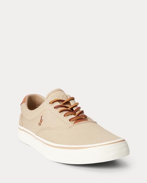4d2e14d8f166df Polo Ralph Lauren Thorton Canvas Low-Top Sneaker 2