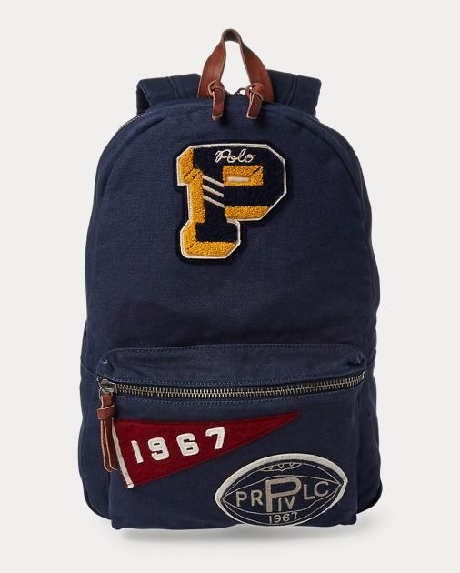 77eeeb02aca5 Polo Ralph Lauren Pennant Patch Backpack 1