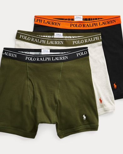 Cotton Boxer Brief 3-Pack
